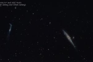 NGC 4656/57 and NGC 4631